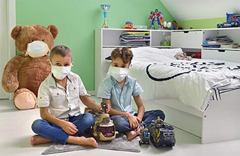 La pollution de l'air interieur dans l'habitat