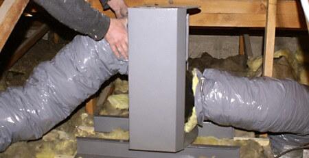 La ventilation maison dans les combles