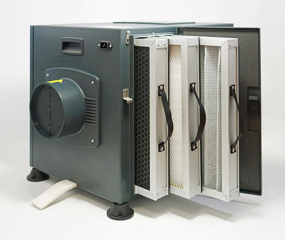 Ventilation VPH ATTIC avec 3 filtres